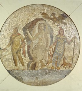 Roman_-_Fragment_of_a_Mosaic_with_Mithras_-_Walters_437