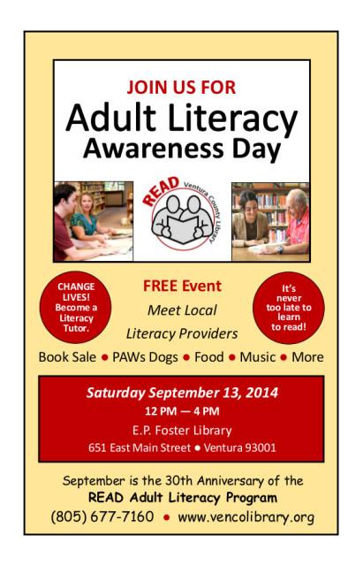READLiteracy Awareness Day half page)